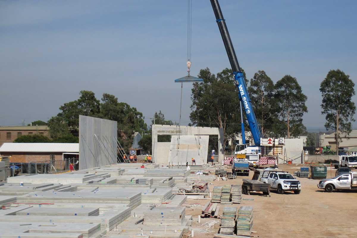 tilt up concrete panels builders sydney